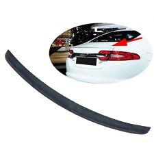 09-15 Jaguar XF Factory Style Rear Trunk Spoiler Wing Lip 2009-2015 Black