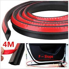 P-Shape 4M Car Door Rubber Seal Strip Soundproofing Trim Weatherstrip Sealings