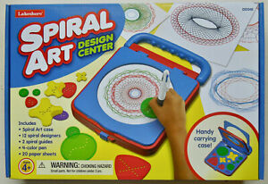 Lakeshore Spiral Art Design Center - 12 Spiral Designs, 4-Color Pen, & Case