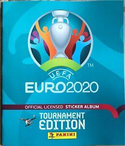 Panini Euro 2020 Tournament Edition Empty Album (Free Version)