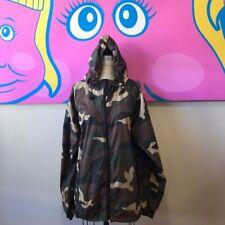 Forever 21 Men Camouflage Nylon Jacket Windbreaker