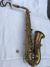 1934 all ORIGINAL Buescher New Aristocrat ALTO near perfect condition / Playable