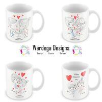 Personalised Valentines Day Mug Boyfriend Husband Girlfriend Wife Anniversary