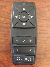 OEM 07-13 BMW  X5 X6 REAR DVD ENTERTAINMENT REMOTE CONTROL P/N 9179842