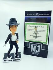 Michael Jackson Bobblehead The King of Pop Certificate of Authenticity Free Ship