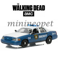GREENLIGHT 86504 THE WALKING DEAD RICK AND SHANE'S 2001 FORD CROWN VICTORIA 1/43