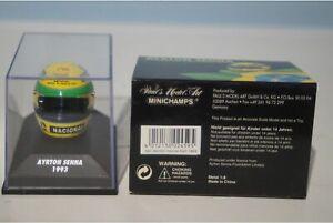 Minichamps Shoei Helmet Ayrton Senna 1993 540 380302