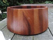 Schale,Schüssel,Teakholz,Holz,Durchmesser 23 cm,H 11 cm,70er Jahre