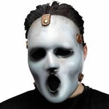 Masques et loups gris sans marque horreur pour déguisements et costumes
