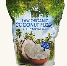 Terrafertil Organic Gluten Free Vegan Coconut Flour 1.8 KG  Long Date