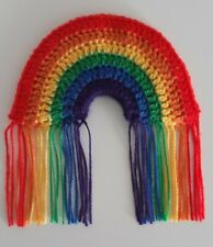 🌈 Crochet Rainbow Wall Hanging / Decoration 🌈