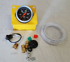 "SALE Autometer Sport-Comp 2-1/16"" Mechanical 52mm Oil Pressure Gauge 0 - 100 Psi"
