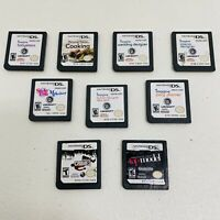 NINTENDO DS 9 GAME LOT-Personal Trainer Cooking,Wedding Designer,Party Planner 5