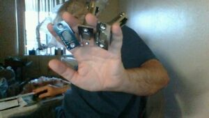 ONE MEDECO BACKSET 2 3/8 NEVER USED AS SEEN IN PHOTO*************************@-@