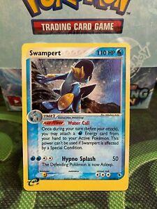 Swampert 13/109 - Rare Holo - Ex Ruby & Sapphire - MINT PSA READY no charizard