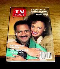 TV GUIDE 1988 APRIL 16-22    FRANKS PLACE .. TIM REID  DAPHNE MAXWELL REID