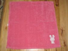 Circo Pink Bunny Rabbit Fleece Baby Girl Blanket