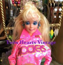VTG 1980s Barbie And The Rockers Real Dancing Action Barbie Doll