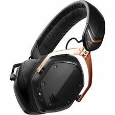 V-Moda Crossfade II Wireless Bluetooth Headphones - Rose Gold Black