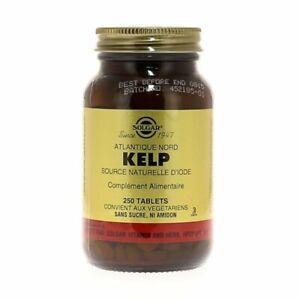 Solgar - Kelp Source Naturelle d'Iode - 250 Tablets - Solgar