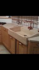 lavandino lavello lavabo cucina in pietra  travertino 1 vasca