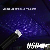 USB Car Interior Atmosphere Starry Sky Lamp Ambient Star Light LED Projector Hot