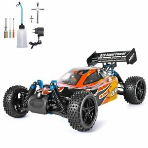 HSP RC Car 1:10 Scale 4wd RC Toys Two Speed Off Road Buggy Nitro Gas Power