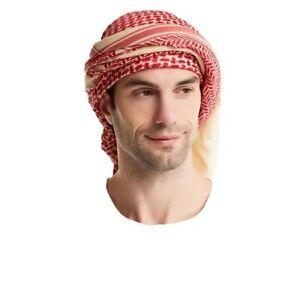 Man Muslim Shemagh, Head Scarf, Head Shawl, Turban, Swallow Gird men scarf islam