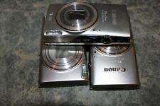 (Lot of 3) *Canon* ELPH 360 HS Silver (No Batteries)