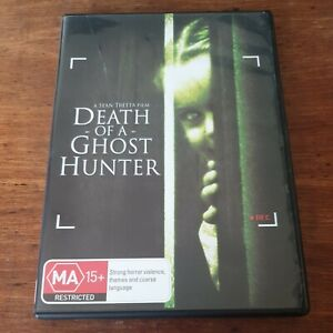 Death of a Ghost Hunter DVD R4 Like New! FREE POST