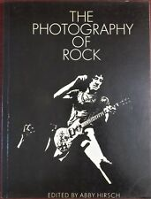 raro libro THE FOTOGRAFÍA OF ROCK - Abby Hirsch