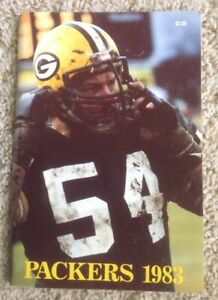 Auotgraphed 1983 GREEN BAY PACKERS Media Guide Signed by LYNN DICKEY TIM LEWIS