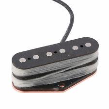 Tele Stack Telecaster Bridge Pickup Alnico 5 Magnet Black