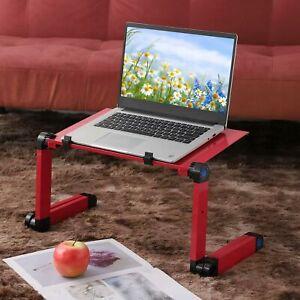 Laptop Stand Desk Adjustable Folding Computer Table Portable Sofa Tray Foldable