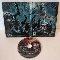 Dead Island Riptide - Jeu PS3 Region Free Très bon état (sans notice) +Steelbook