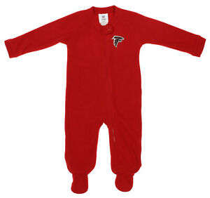 Outerstuff NFL Infants Atlanta Falcons Blanket Sleeper Coverall