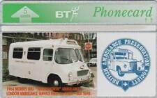 BT Phonecard, BTG155 British Ambulance Preservation Society, unused