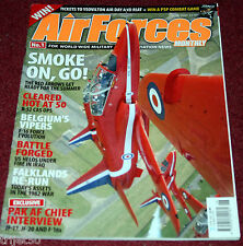 Air Forces Monthly Magazine 2007 June Tornado,Red Arrows,F-16,Pakistan,B-52