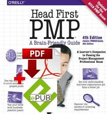 Head First PMP: A Learner's Companion to Passing...-4th ED [LATEST 2018]