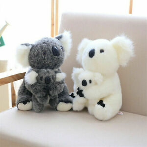 Koala Wildlife Teddy Bear Plush Toy Soft Stuffed Animal Cuddly Doll 21cm Cute