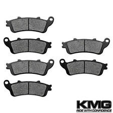 Front + Rear Kevlar Brake Pads For 2001-2011 Honda GL 1800 1800 A (ABS) Goldwing