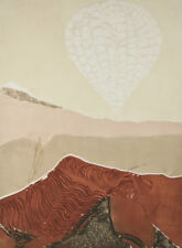Lin Carte Anderson: Free Spirit II Signed Intaglio Etching Artist's Proof 30x22