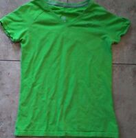 WOMEN'S MEDIUM NIKE LIME GREEN ATHLETIC DEPT. TOP
