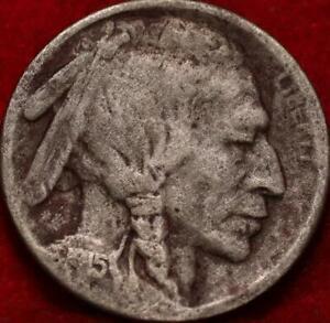 1915-S San Francisco Mint Buffalo Nickel