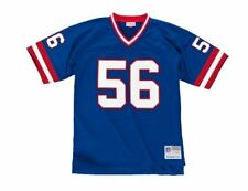 Mitchell And Ness Legacy Jersey T-Shirt New York Giants Lawrence Taylor #56 Blue