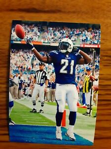 Ladainian Tomlinson Chargers Football 4x6 Game Photo Picture Card