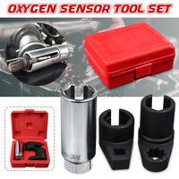 "3 Pcs Car Oxygen / Lambda Sensor Socket Wrench Tool Set 1/2"" & 3/8"" Drive"