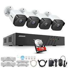 ANNKE 8CH 6MP NVR Outdoor 5MP CCTV Camera Home Surveillance POE System IP67 1TB