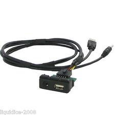 CTMAZDAUSB MAZDA 6 2012 ONWARD OEM USB SOCKET ADAPTER CONNECTOR LEAD PLUG & PLAY