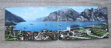 Italia Italien doppio AK CP Torbole Lago di Garda 1910-25 Strade Hotel Case ++